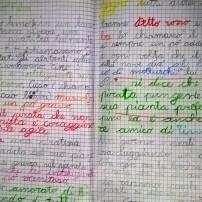 """to originale (in bella) della storia """"Un tesoro falso"""" : 8 anni"""